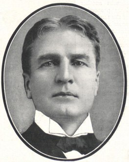 William Gillette portrait John Johnson
