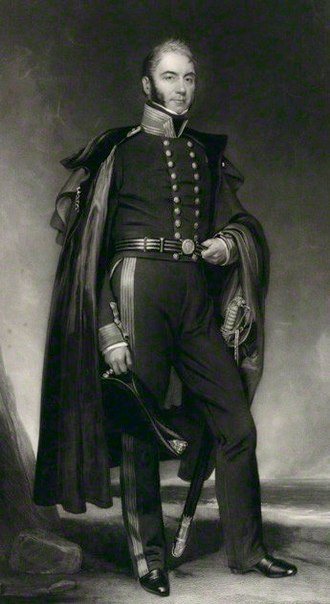 William Gordon (Royal Navy officer, born 1784) - William Gordon by Henry William Pickersgill