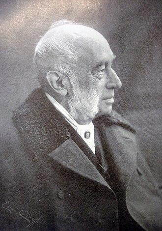 William Rathbone VI - Contemporary photograph of Rathbone