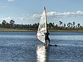 Windsurfing at Lake Wivenhoe, Queensland 02.jpg