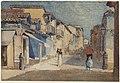 Winslow Homer - Street Scene, Santiago de Cuba.jpg