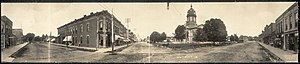 Winterset, Iowa - Downtown Winterset in 1907