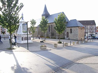 Wissant - The centre of Wissant
