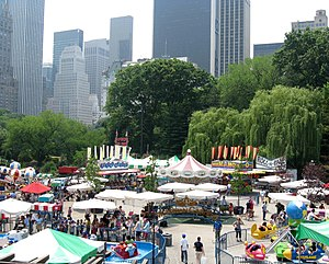 Wollman Rink - Summertime amusement park
