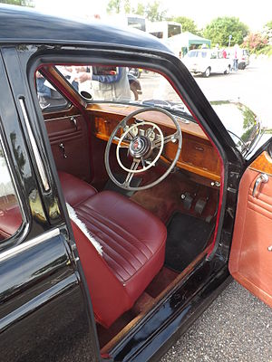 Wolseley 4/44 - Image: Wolseley Four Forty Four (4 44) 1955 (17848445668)