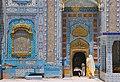 Womens entering Shrine of Sachal Sarmast gate.jpg