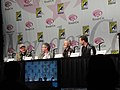 WonderCon 2011 - Terra Nova panel with director Alex Graves, executive producer Brannon Braga, and stars Stephen Lang and Jason O'Mara (5596531049).jpg