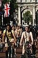 World Naked Bike Ride in London on The Mall, June 2013 (32).JPG