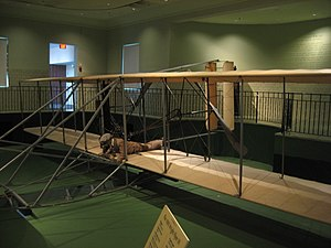 Wright Flyer III - Flyer III in the museum