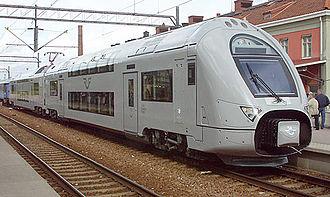 SJ X40 - X40 at Eskilstuna