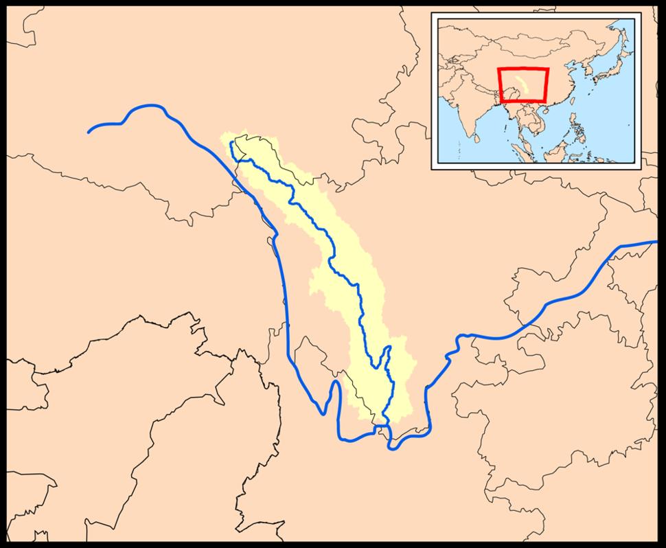 Yalongrivermap