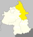 Yambol Oblast map Gmina Strałdża.png