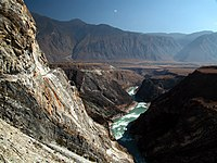 """Protection zones in the National Park of the """"Three Parallel Rivers"""" in Yunnan"""