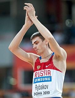 Yaroslav Rybakov Russian high jumper