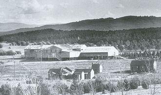 Yarralumla, Australian Capital Territory - Yarralumla woolshed in 1925
