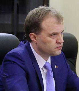 Yevgeny Shevchuk President of Transnistria