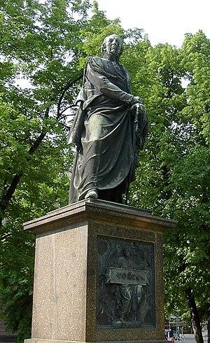 Ludwig Yorck von Wartenburg - Statue of Yorck von Wartenburg on the Unter den Linden, Berlin.
