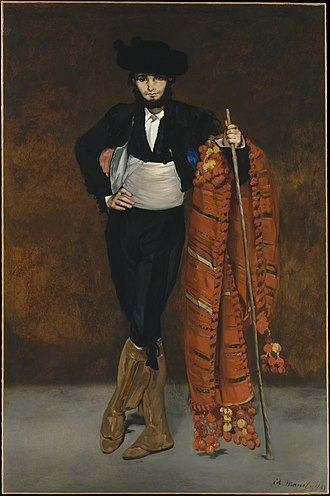The Spanish Singer - Image: Young Man in the Costume of a Majo MET DT862