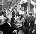 Yuri Gagarin and Yuzhnoye Design Bureau workers, meeting in Crimea 10.03.1962.jpg