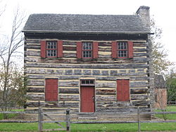 Zachariah Price Dewitt Cabin, built 1805