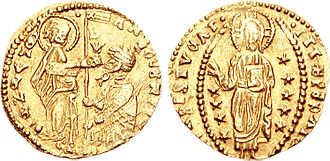 Ajuran Sultanate - Mogadishu imported valuable gold Sequin coins from the Venetian Empire in Europe.