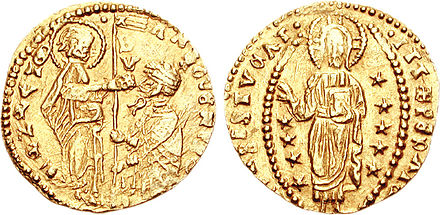 Mogadishu imported valuable gold Sequin coins from the Venetian Empire in Europe. - Ajuran Sultanate