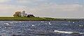 Zicht op IJsselmeer in de bocht van Molkwar (Molkwerum). Locatie, Friese IJsselmeerkust 04.jpg