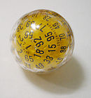 """100-sided"" dice"