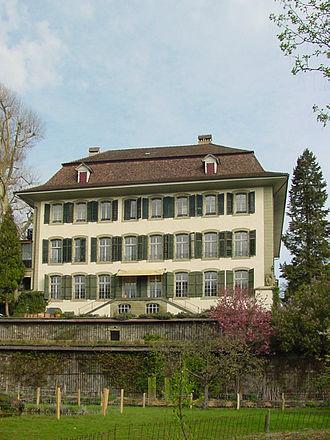 Zollikofen - Reichenbach Castle in Zollikofen