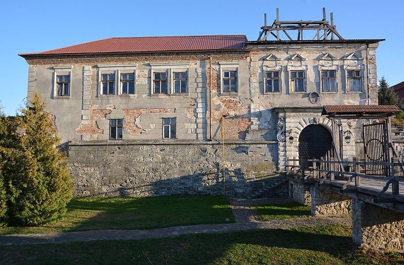 Надбрамний корпус Золочівського замку. Автор фото — Наталія Шестакова, вільноліцензоване під CC BY-SA 4.0