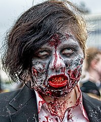 Zombies are a popular feature in many horror works.