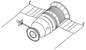 Zond 7 - Image: Zond L1 drawing
