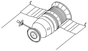 Soyuz 7K-L1 No.4L - A Soyuz 7K-L1 spacecraft