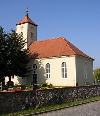 Zossen - Church in Nunsdorf