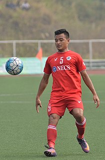 Zohmingliana Ralte Indian footballer