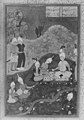 """Alexander at a Banquet"", Folio from a Khamsa (Quintet) of Nizami MET 16325.jpg"