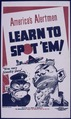 """America's Alertmen. Learn to Spot 'Em"" - NARA - 513958.tif"