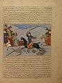 """Bahman Taking Revenge on the Sistanians"" Folio from the Majma' al-Tavarikh (Compendium of Histories) of Hafiz-i Abru MET sf57-51-8.jpg"