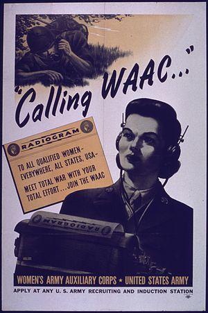 Women's Army Corps - Calling WAAC...