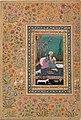 """""""Haji Husain Bukhari"""", Folio from the Shah Jahan Album MET DT4813.jpg"""