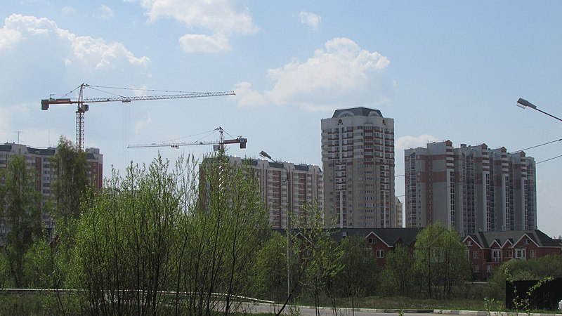"File:""Katyushky"" microdistrict under construction. May 2014. - Строящийся микрорайон ""Катюшки"". Май 2014. - panoramio.jpg"