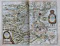 """""""La Principaute D´Orange et comtat de Venaissin - par Iaques de Chieze Orangeois 1627 """" (22242571492).jpg"""