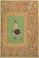 """""""Portrait of Khan Dauran Bahadur Nusrat Jang"""", Folio from the Shah Jahan Album MET DP247724.jpg"""