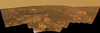 Cape York (Mars) - Matijevic Hill Panorama