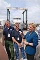 (Hurricane Katrina) Empire, LA, 3-13-06 -- US Senator Lisa Murkowski (R-AK) (Center right) thanks Wayne & Nancy Weikd, FEMA Community Relations Special Project Liaison Officers for - DPLA - 4bd1396f3fb7c6452c9bcd8bf674e730.jpg