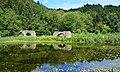 Äquadukte mit Burgteich, Wasserversorgung Burg Landskron, Villach, Kärnten.jpg