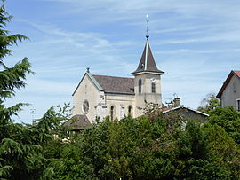 The church in Bossey