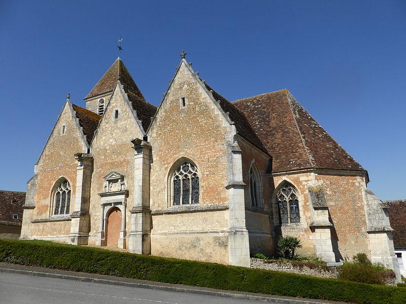 Église de Vichères, en Eure-et-Loir.