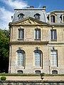 Épinay-Champlâtreux (95), château de Champlâtreux, façade principale ouest, pavillon nord.jpg