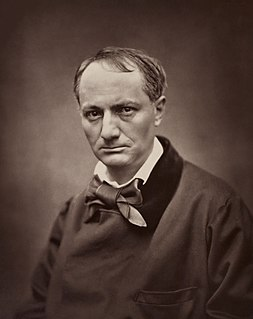 Charles Baudelaire 19th century French poet, essayist and art critic,